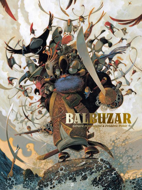 Balbuzar - Gérard Moncomble - Frédéric Pillot - Couverture