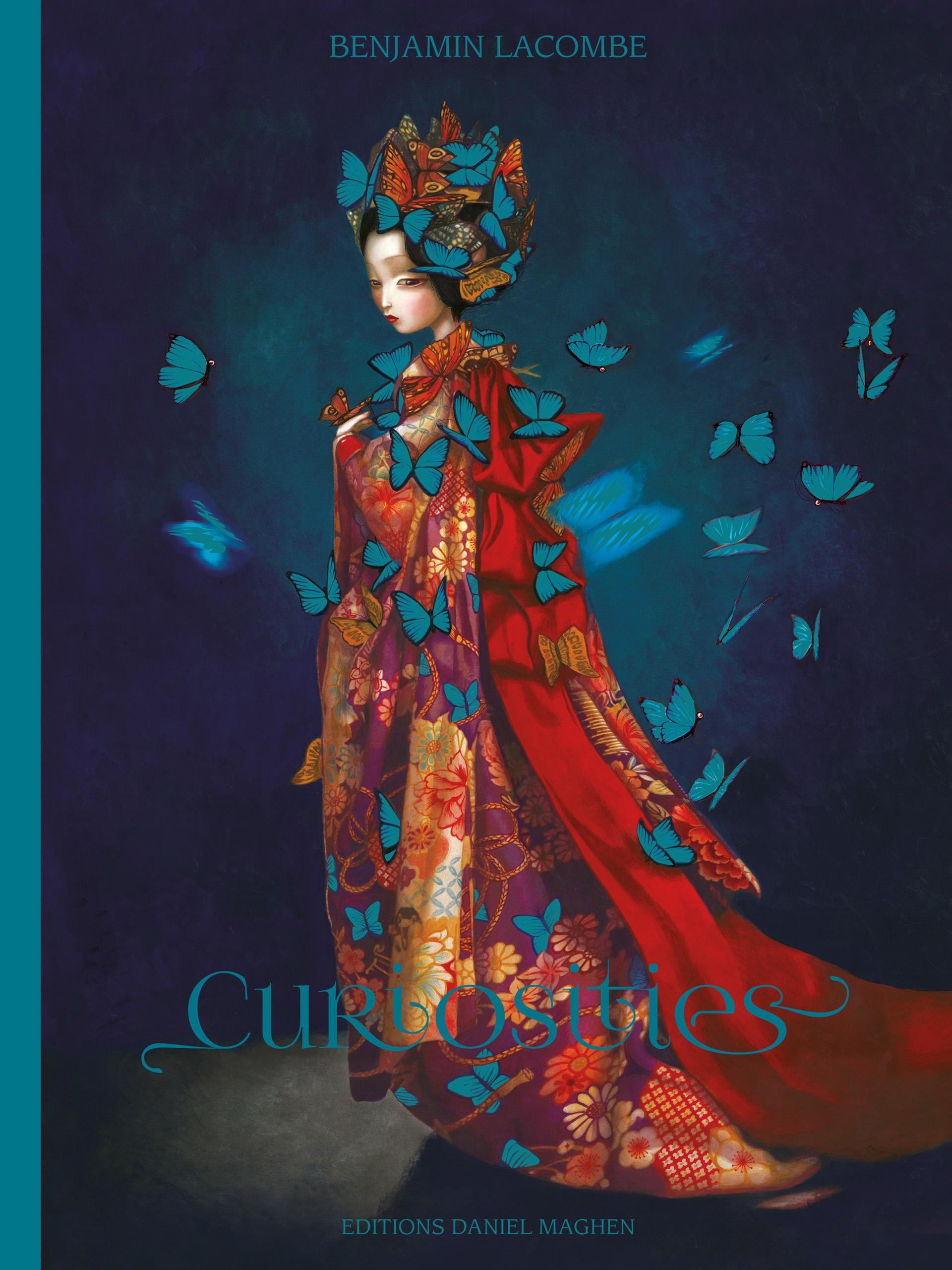 Curiosities <br> Nouvelle édition - Benjamin Lacombe - Couverture