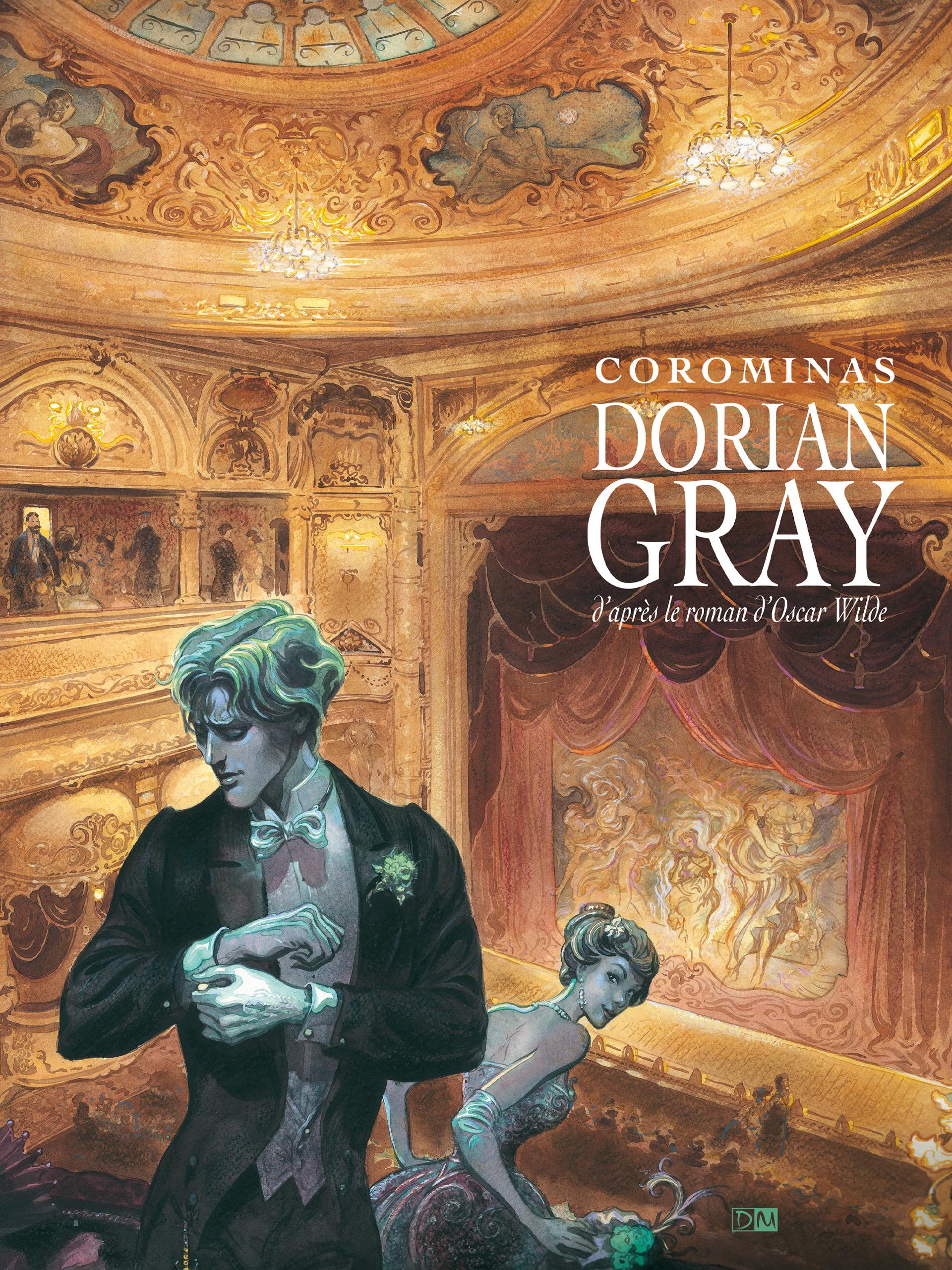 Dorian Gray - Enrique Corominas - Couverture