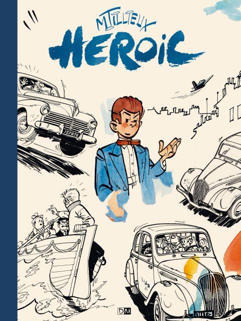 Héroic - Maurice Tillieux - Couverture