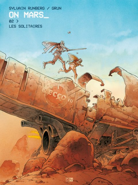 Les Solitaires - On Mars - Sylvain Runberg - Grun - Couverture