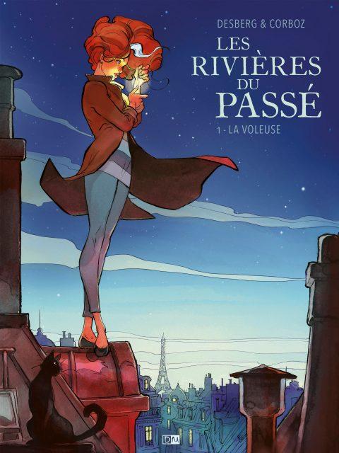 La Voleuse - Les Rivières du passé - Stephen Desberg - Yannick Corboz - Couverture