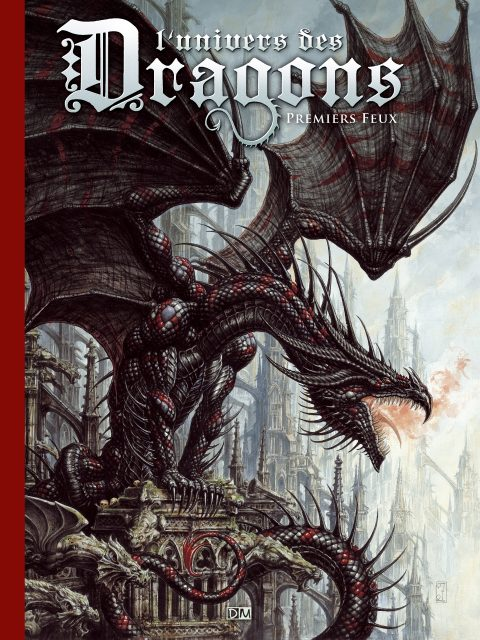 Premiers Feux - L'Univers des dragons - Couverture
