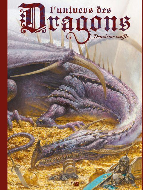 Deuxième Souffle - L'Univers des dragons - Couverture