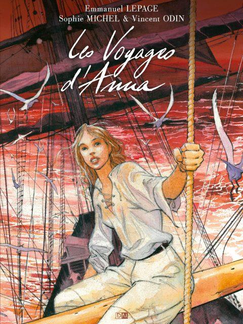Les Voyages d'Anna - Sophie Michel - Emmanuel Lepage - Couverture