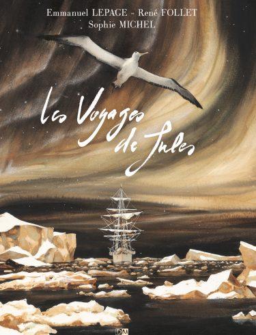 Les Voyages de Jules - Sophie Michel - Emmanuel Lepage - Couverture