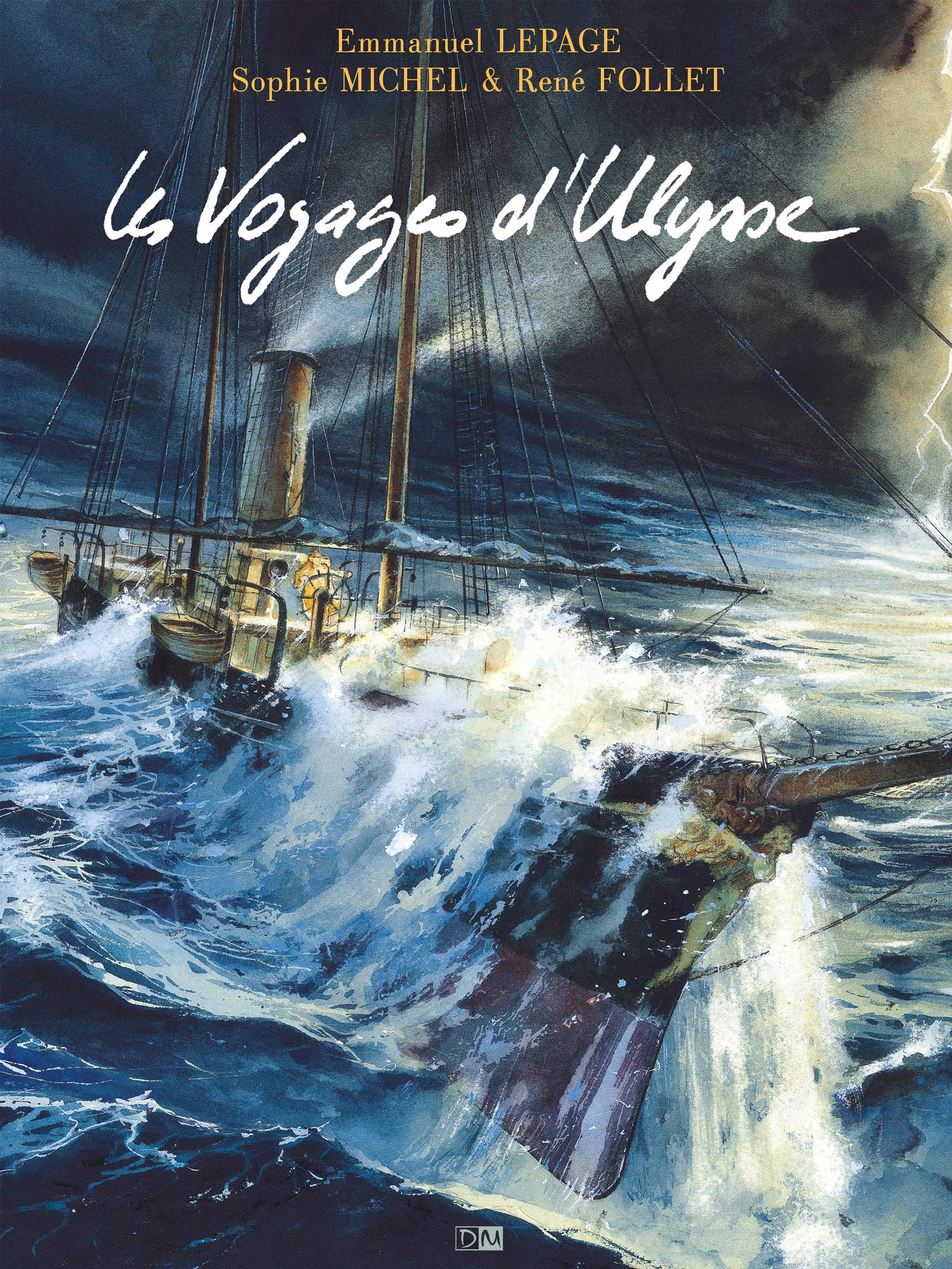 Les Voyages d'Ulysse - Sophie Michel - Emmanuel Lepage - Couverture